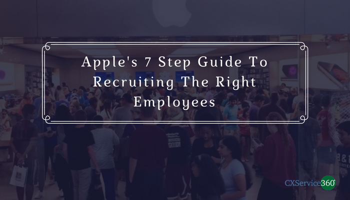 The Apple Guide To Recruiting The Right People -