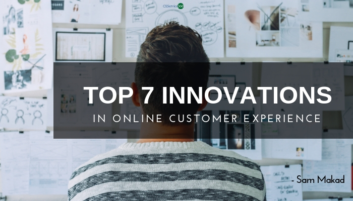 Innovations in Online Customer Experience